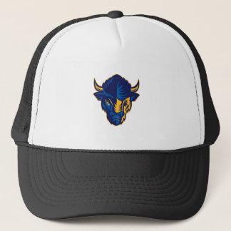 Gorra De Camionero Cabeza del bisonte americano retra