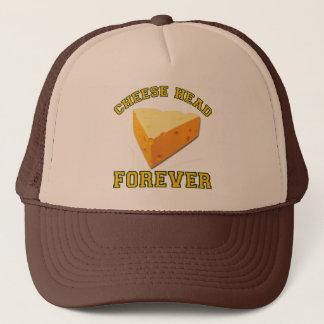 Gorra De Camionero Cabeza del queso para siempre