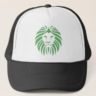 Gorra De Camionero Cabeza verde del león