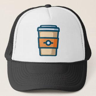 Gorra De Camionero Café a ir