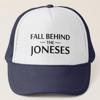 Gorra De Camionero Caída detrás del Joneses