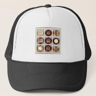 Gorra De Camionero Caja con los caramelos de chocolate