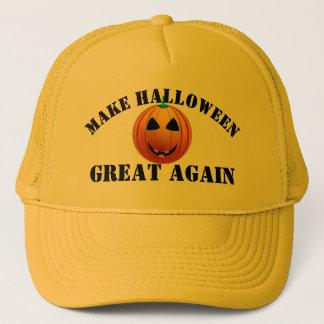 Gorra De Camionero Calabaza americana divertida Halloween
