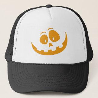 Gorra De Camionero Calabaza de Halloween de la linterna de O de Jack