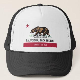 Gorra De Camionero California, despide el bolso