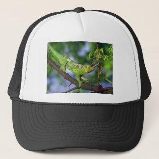 Gorra De Camionero camaleón de cuernos