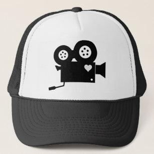 f7178130e8d7 Gorras de béisbol Blanco Negro | Zazzle.es