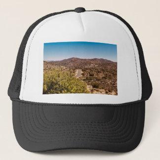 Gorra De Camionero Camino solo del desierto de la yuca