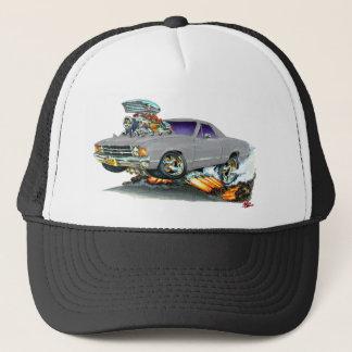 Gorra De Camionero Camión 1971-72 del gris del EL Camino