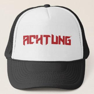 Gorra De Camionero Camionero negro del equipo de Achtung