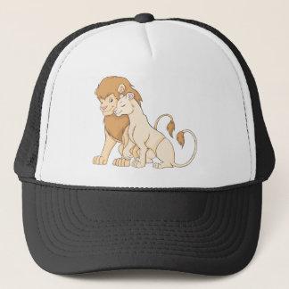 Gorra De Camionero Camisa de encargo linda del león de la camisa el |