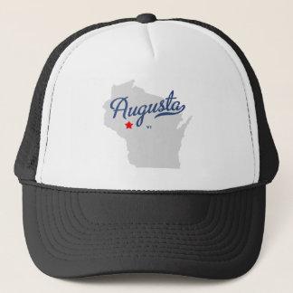 Gorra De Camionero Camisa de los WI de Augusta Wisconsin