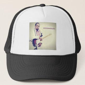 Gorra De Camionero Camiseta de la guitarra eléctrica de Jimmy