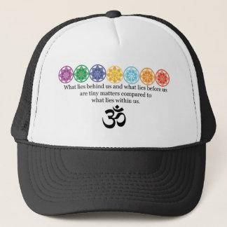 Gorra De Camionero Camiseta de la yoga de OM