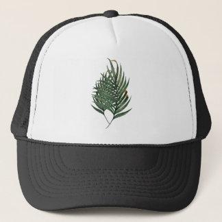 Gorra De Camionero Camiseta de las hojas de palma