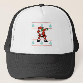 Gorra De Camionero Camiseta fea del navidad de la danza del lenguado