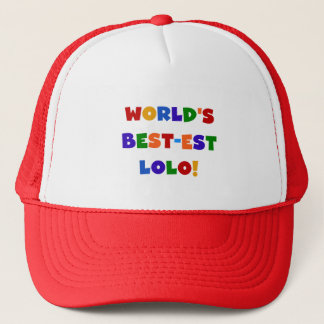 Gorra De Camionero Camisetas brillantes y regalos del Mejor-est Lolo