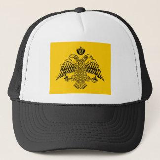 Gorra De Camionero Camisetas de la bandera del imperio bizantino