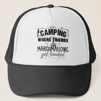 Gorra De Camionero Camisetas que dice que acampa divertido