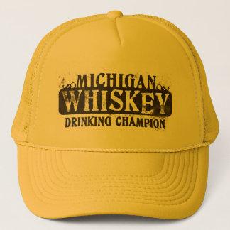 Gorra De Camionero Campeón de consumición del whisky de Michigan