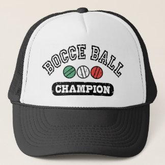 Gorra De Camionero Campeón de la bola de Bocce
