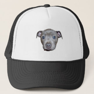 Gorra De Camionero Cara del perrito de Staffordshire bull terrier,