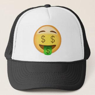 Gorra De Camionero Cara Emoji de la Dinero-Boca
