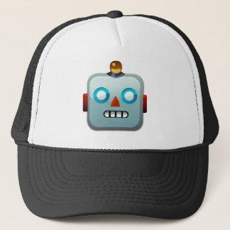 Gorra De Camionero Cara Emoji del robot