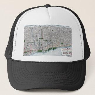Gorra De Camionero Carriles elevados y los parques de Chicago 1908