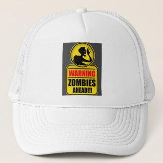 Gorra De Camionero Casquillo amonestador de los zombis a continuación