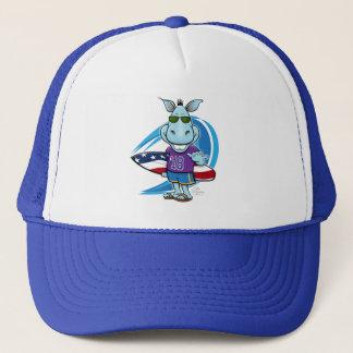 Gorra De Camionero Casquillo azul del camionero de la onda