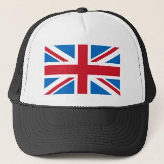 Gorra De Camionero Casquillo BRITÁNICO - Union Jack con el azul