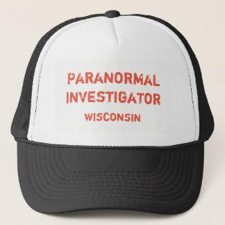 Gorra De Camionero Casquillo de béisbol paranormal del investigador
