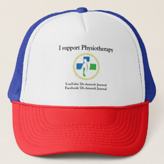 Gorra De Camionero Casquillo de la fisioterapia (con el logotipo)