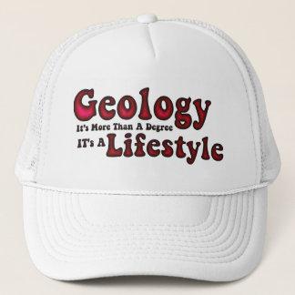 Gorra De Camionero Casquillo de la forma de vida de la geología