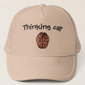Gorra De Camionero Casquillo de pensamiento de Neuromonkey