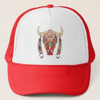 Gorra De Camionero Casquillo del bisonte de Apache del equipo