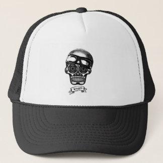 Gorra De Camionero Casquillo del camionero de la madre del cráneo del