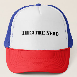 Gorra De Camionero Casquillo del camionero del empollón del teatro