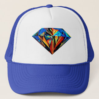 Gorra De Camionero Casquillo del diamante