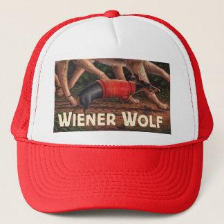 Gorra De Camionero Casquillo del lobo de la salchicha de Frankfurt