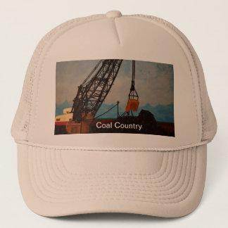 Gorra De Camionero Casquillo del país del carbón