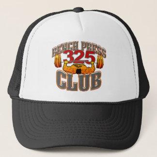 Gorra De Camionero Casquillo/gorra de la prensa de banco de 325 clubs