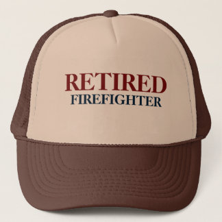 Gorra De Camionero Casquillo jubilado del bombero