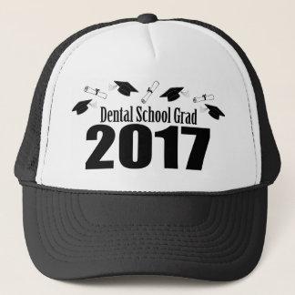 Gorra De Camionero Casquillos y diplomas (negro) del graduado 2017