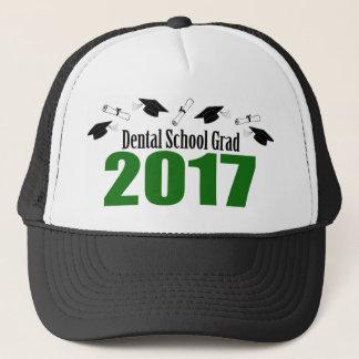 Gorra De Camionero Casquillos y diplomas (verde) del graduado 2017