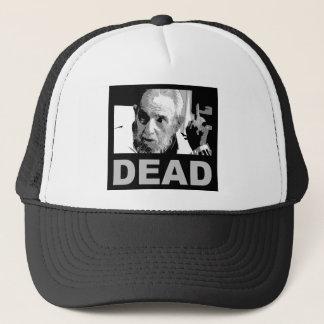 Gorra De Camionero Castro muerto (negro y blanco)