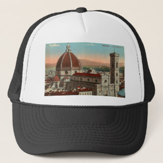 Gorra De Camionero Catedral retra de Florencia Italia Italia del arte
