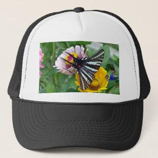 Gorra De Camionero Cebra Swallowtail+Escarabajo japonés