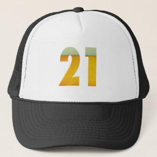 Gorra De Camionero Celebre el 21ro cumpleaños
